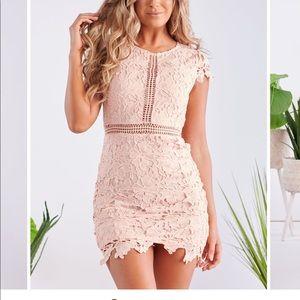 Dresses & Skirts - Blush Dress - Brand New!